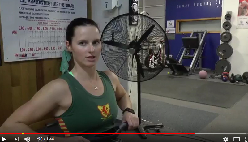 Motivation Monday: The Position of the Elbows at the Finish (video)