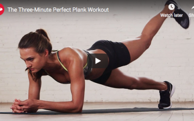 The Three-Minute Perfect Plank Workout (video)