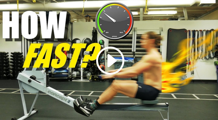 Rowing Machine: How Fast Should You Row? (video)