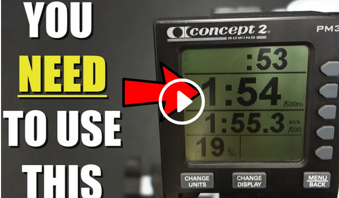 Understanding the Monitor on a Rowing Machine (video)
