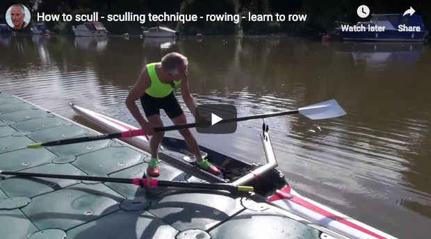 Motivation Monday – Learning to Scull & Race Pace Technique (videos)