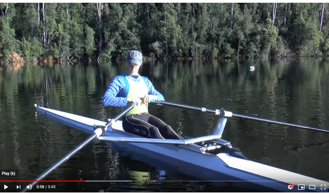 Rowing Drills While Stationary (video)