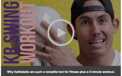 Kettlebell Swing 5-Minute Workout